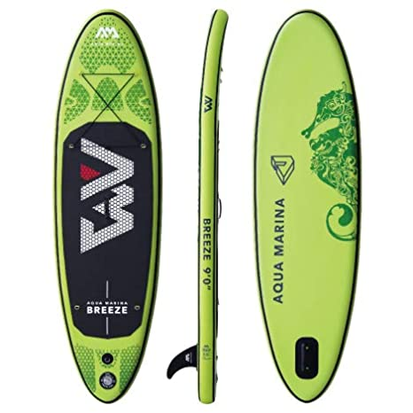 Aqua Marina Breeze Tabla de Paddle Board Sup (Verde Paddle + ...