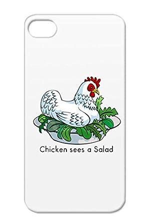 Poultry Jokes Caesar Pun Joke Chicken Hen Food Funny White Tpu
