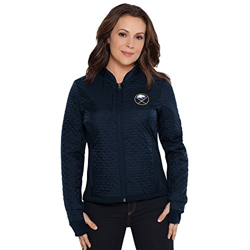 Touch by Alyssa Milano NHL Buffalo Sabres Women's Lead Off Jacket, Navy, ()