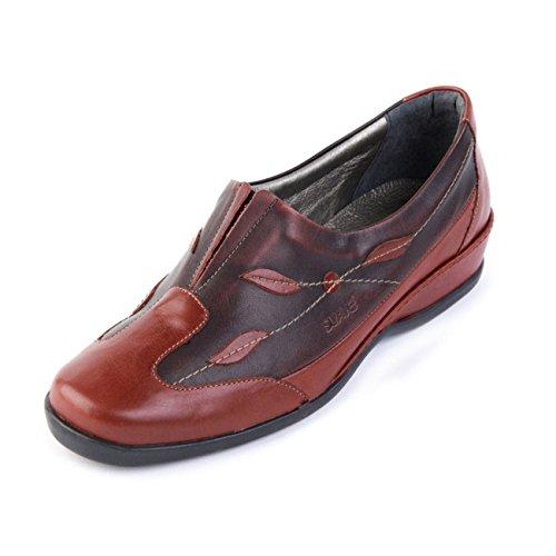 Suave Chaussures lacets Cherry pour à de ville Burgundy femme rrdqpv