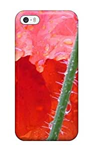 For Iphone 5/5s Protector Case Poppy Flower Phone Cover