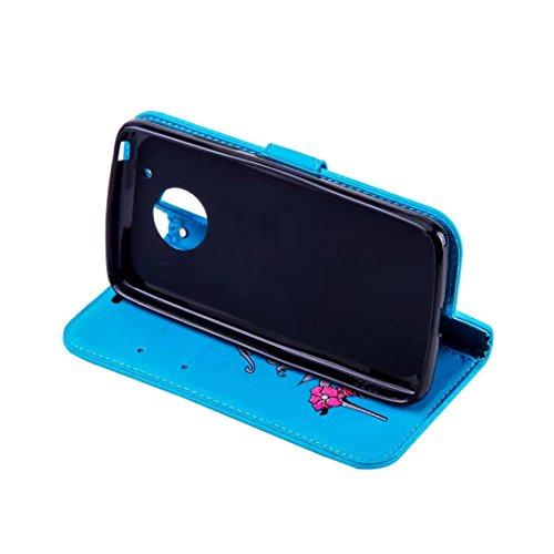 COWX Motorola Moto G5 Plus Hülle Kunstleder Tasche Flip im Bookstyle Klapphülle mit Weiche Silikon Handyhalter PU Lederhülle für Motorola Moto G5 Plus Tasche Brieftasche Schutzhülle für Motorola Moto