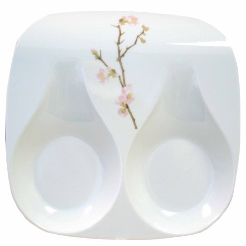 Double Cherry (Corelle Coordinates Double Spoon Rest, Cherry)