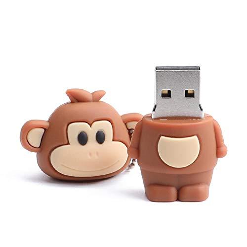 Cute Monkey PVC USB 2.0 Flash Drive U Disk Memory Data Storage Pen (8GB) from Vipeco