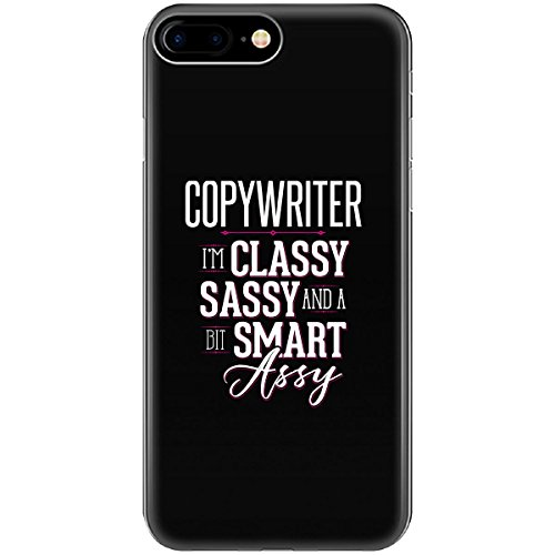 Reviews/Comments Copywriter Job Title Funny Classy Sassy Smart Assy Girl - Phone Case Fits Iphone