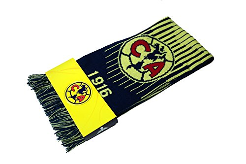 Club America Authentic Official Licensed Product Soccer Scarf - 03-2 (Scarf Soccer Club)