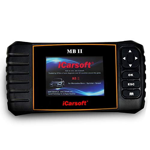 iCarsoft MBII for Mercedes Benz/Sprinter/Smart Professional Diagnostic Tool Scanner, New Version ()