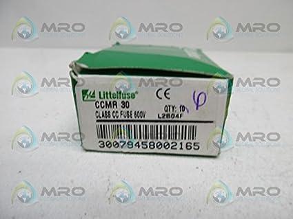 littlefuse ccmr 30 fuse box of 6 new in box amazon com industrial rh amazon com  littelfuse redbox