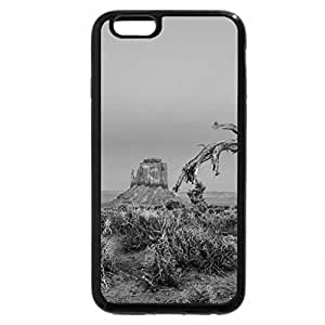 iPhone 6S Case, iPhone 6 Case (Black & White) - Monument Valley, Arizona