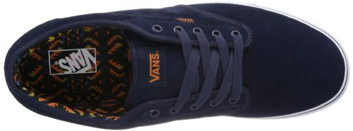 Vans Atwood, Men's Low-Top Trainers Blue (Native Mood Indigo/White)