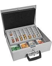 Wedo Universa 150100837 - Caja para dinero (355 x 275 x 100 mm), color gris