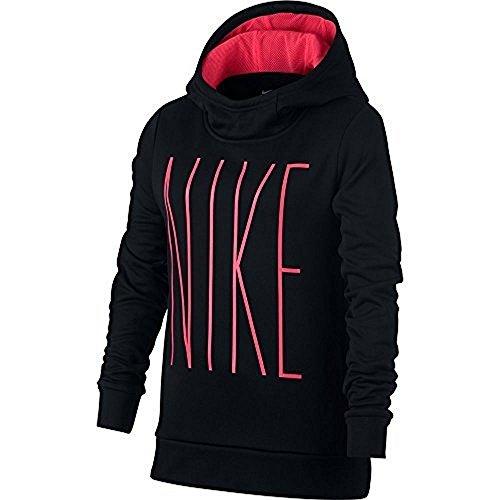 Nike Girls Graphic Thermal Hoodie (L)