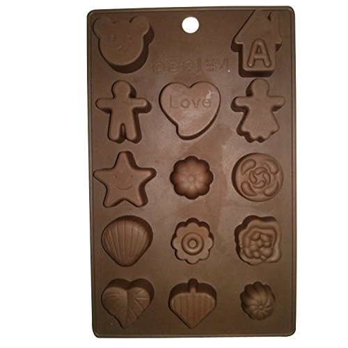 14 Special Characters Chocolate Candy Mold