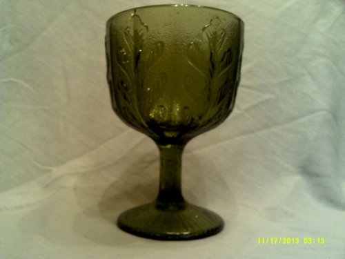 Vintage Collectible FTD Green Oak Leaf Candy Dish/vase ()