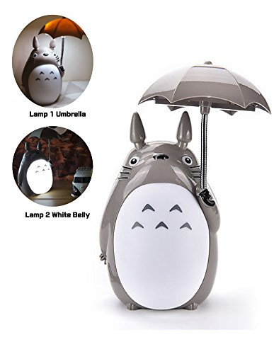 Totoro-Anime-LED-Night-LightWhite-Belly-Kids-Character-Lamp-USB-Charge-Desk-Night-Table-Reading-Lamp
