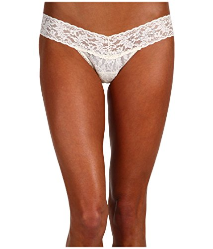 Hanky Panky Women's I DO Low Rise Bridal Thong Ivory One Size