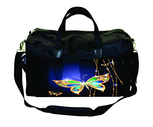 - Jeweled Butterflies Weekender Bag
