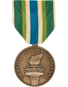 ML-F1044, Armed Forces Service (Resized) Full Size Medal MEDALS ()