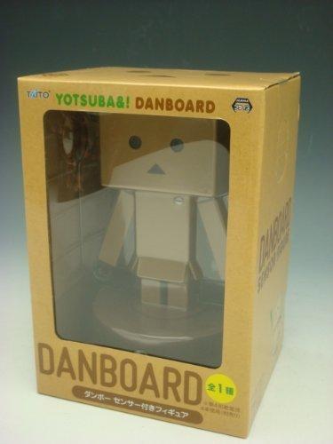 Yotsuba&  Danboard Figure with Motion Sensor Lighting Eyes Taito Japan by Taito