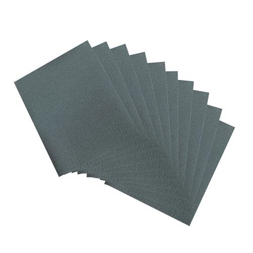 Qty 10 - Wet & Dry Sheets 600 Grit - Abrasive Paper, Sandpaper - For Metal Loops