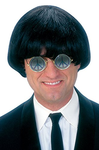 Fun World Men's Yeah Wig, Black, Standard -