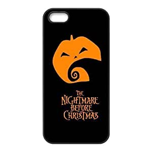 iPhone 5 5s Cell Phone Case Black Nightmare Before Christmas Udckd