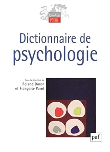 Amazon Fr Dictionnaire De Psychologie Roland Doron