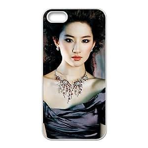 liu yifei iPhone 5 5s Cell Phone Case White xlb2-065568