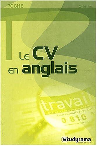 Lire un Le CV en anglais epub, pdf