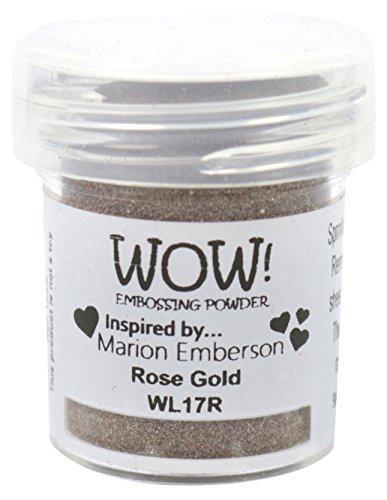 Embossing Metal Powders - Wow Embossing Powder WL17R 15ml, Rose Gold