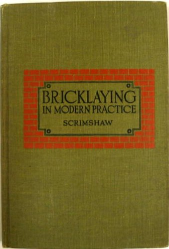 Bricklaying In Modern Practice