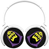 6Dian Vintage Skeletor Headphones Over-ear Stereo Fold Wireless Bluetooth Earphone White