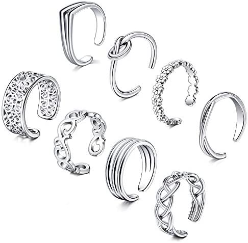 D Bella Adjustable Toe Rings