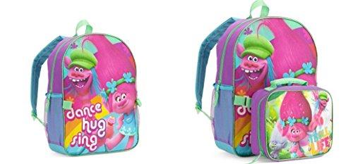 Dreamworks Trolls Backpack Detachable Lunch