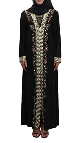 Navajo Maniche donne Floreali 3 Dall'annata Musulmano Lunga Lunghe Matita Vestito A Coolred XAqwdw