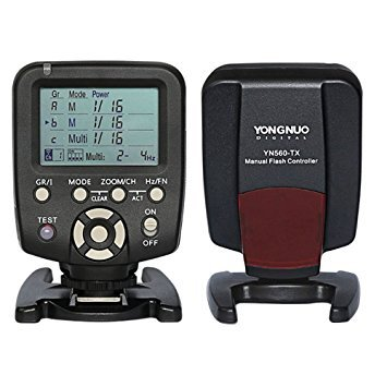YONGNUO 560 TX Manual Flash Controller Transmitter LCD Wirelss Trigger Remote for YN-560 III YN560 IV,RF-602 RF-603 RF-603 II Nikon Camera YN560-TX by YONGNUO