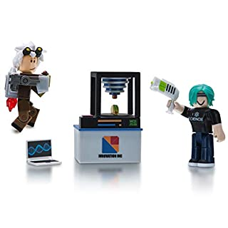 Roblox Action Collection - Innovation Labs Game Pack [Includes Exclusive Virtual Item]