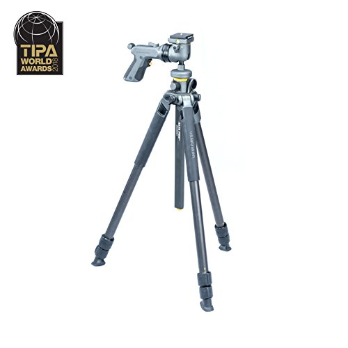 Vanguard Alta Pro 2+ 263CGHT Carbon Fiber Tripod with Alta GH-300T Grip Head and Multi-Angle Center Column for Sony, Nikon, Canon DSLR Cameras