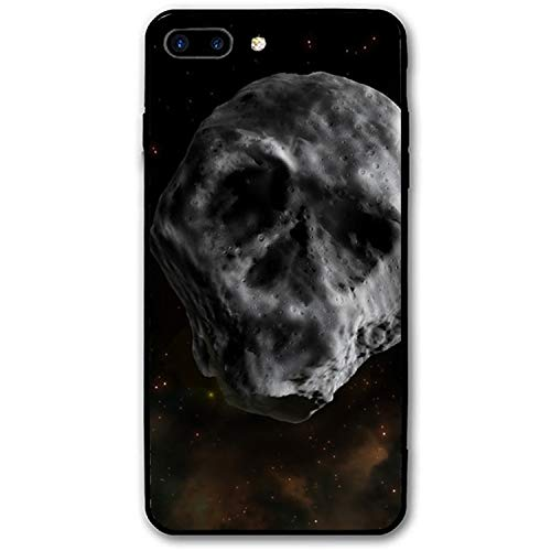 Skull-Shaped Asteroid iPhone 7/8 Plus Case Enhanced Grip Premium Scratch Resistant Protective -