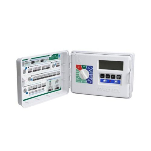 - K-Rain Pro Ex Modular Controller with 4 Station Module, 120-volt