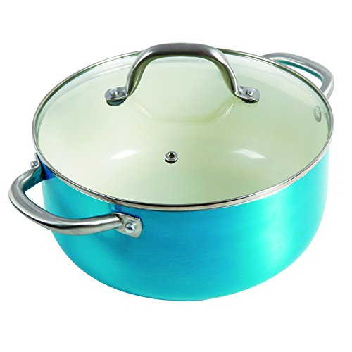 Oster Aluminum Cookware Set, Turquoise