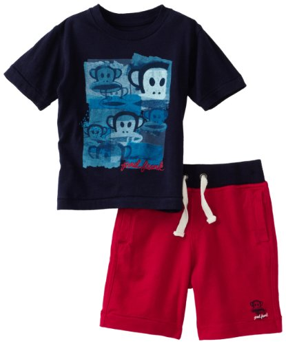 Paul Frank Baby Boys' Artsy Julius 2 Piece Short Set