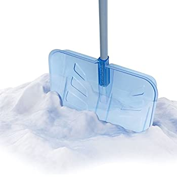 """Snow Joe SJEG20-PC 20"""" Snow Shovel W/Indestructible Shatter Resistant Polycarbonate Blade, D-Grip Handle"""