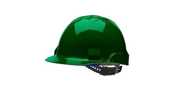 Bullard vtfgp tipo II Vector casco casco de protección, 4 punto Pin Lock Suspensión, bosque verde, un tamaño: Amazon.es: Amazon.es