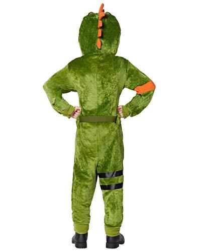 Kids Fortnite Plush Rex Costume - L/XL Green