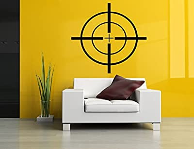 Wall Room Decor Art Vinyl Sticker Mural Decal Shooting Target Poster Military AS2888