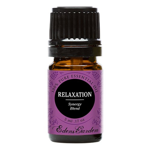 Relaxation (100% Pure, Undiluted Therapeutic/Best Grade) Premium Aromatherapy Oils by Edens Garden- 5 ml