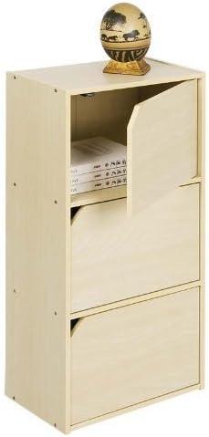 Furinno 11206SBE Pasir Bookcase Handle