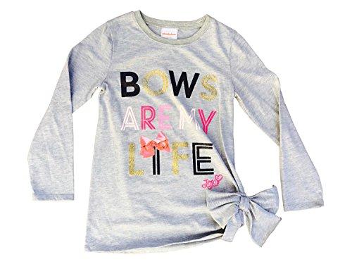 jojo-siwa-Bows-Are-My-Life-Long-Sleeve-Tee-Shirt-wSide-Bow-Gray-Nickelodeon
