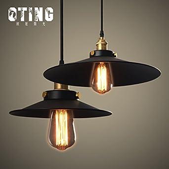 JJ Moderne LED Pendelleuchten Lampe Im Europäischen Stil Amerikanischer  Esstisch Lampen Retro LOFT Industrial Wind Kronleuchter